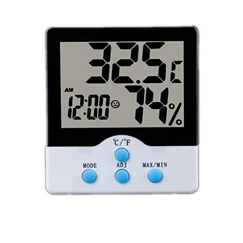 AILI Wetterstationen Digital LCD Thermometer Hygrometer Elektronische Temperatur-Und Feuchtigkeitsmessgerät Hause Wecker Küche Innenwetterstation Wetterstationen