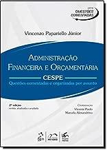 Administração Financeira E Orçamentaria - Série Questões Comentadas