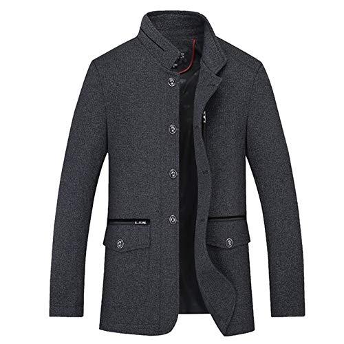 Elegante Parkas de moda chaquetas de cuero Abajo Abrigo Chaqueta de los Hombres Baratos Venta Al Por Mayor 2020 Nueva Primavera Verano Otoño Hombres Moda Casual Ropa de Trabajo Bonita Chaqueta Hombre