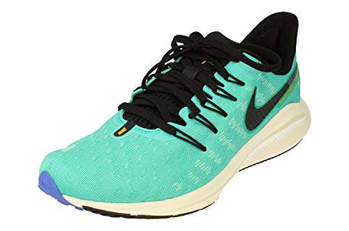 Nike Mujeres Air Zoom Vomero 14 Running Trainers AH7858 Sneakers Zapatos (UK 4.5 US 7 EU 38, Hyper Jade Black Sail Sapphire 301)