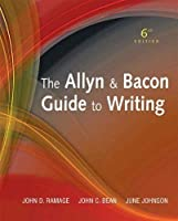 The Allyn & Bacon Guide to Writing (6th Edition) by Ramage John D. Published by Longman 6th (sixth) edition (2011) Hardcover [並行輸入品]