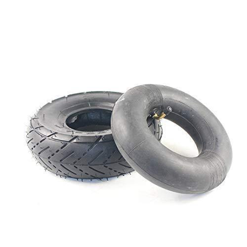 Neumático 3.00-4 Tubo Interior Y Neumático Exterior para Scooter Knobby Go Kart Neumático De Carretera Neumático De Carretera Reemplazo De Neumáticos