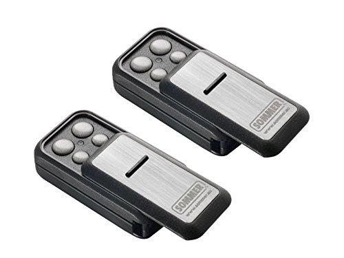 2x Sommer Handsender Slider+ Slider S10305 TX40-868-4 Funksender Garagentor Fernbedienung 868,8 Mhz 868,95 Mhz Base+ Pro+ Torantrieb