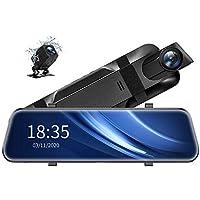 ViviLink VX510 2.5K 10 Inch Mirror Dash Camera with Voice Control