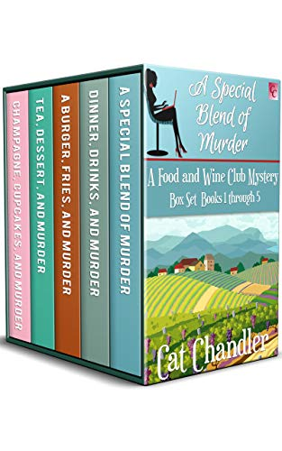 A Food and Wine Club Mystery Boxset Books 1 through 5...