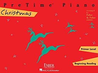 Pretime Piano Christmas, Primer Level: Beginnning Reading (Faber Piano Adventures)