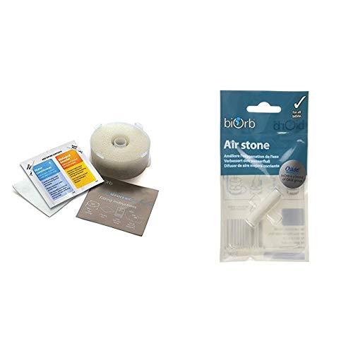 Oase biOrb Service Kit & biOrb Luftausströmerstein - Sauerstoffausgleich für das Aquarium, praktischer Air Stone zum Regulieren des Stroms von Luftblasen, für alle biOrb Aquarien geeignet