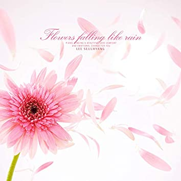 비처럼 내리는 꽃