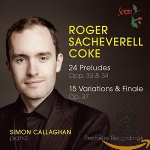 Coke:Preludes & Variations [Simon Callaghan ] [SOMM: SOMMCD 0147]