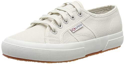 Superga 2750 COTU Classic Sneakers, Zapatillas Unisex Adulto, Grey Seashell, 37 EU