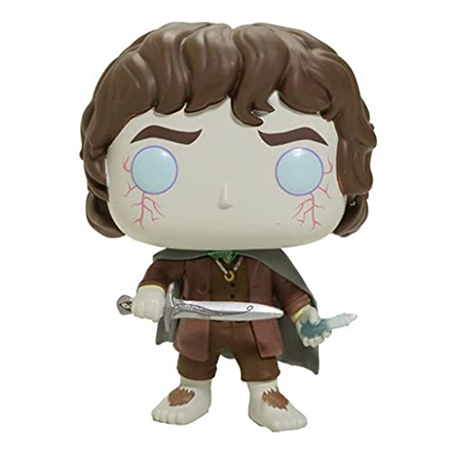 The Lord of The Rings Pop Figure Frodo Baggins [Roll One'S Eyes] Chibi Vinly PVC Decor Decorations
