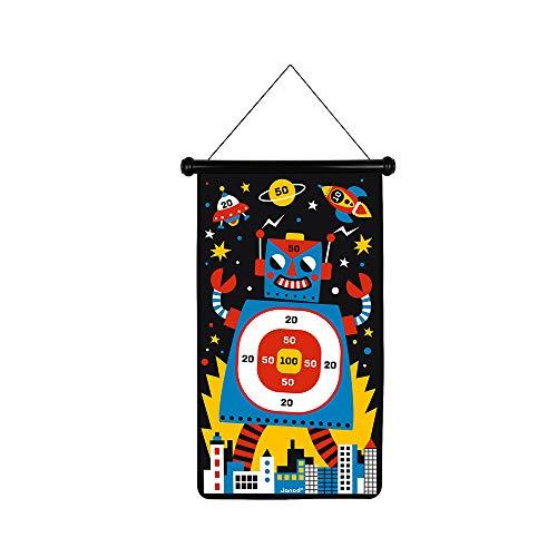 Janod- Robots Juego De Dardos Magnéticos, Multicolor, Talla Única (J02073)