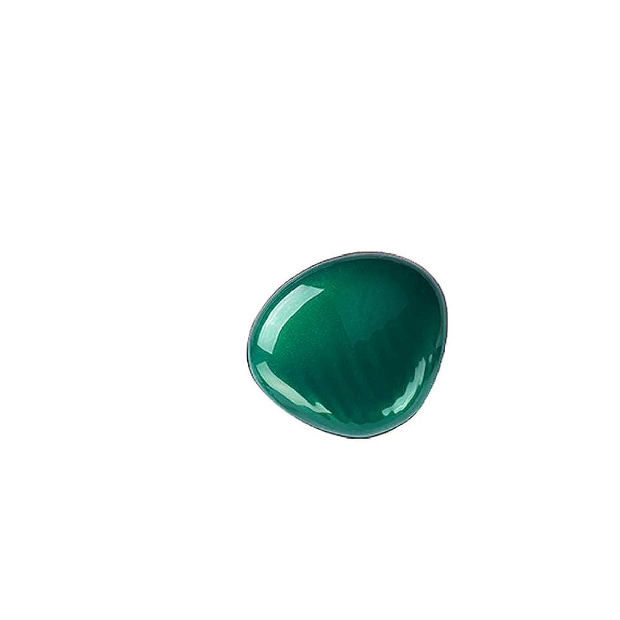 堀鉄道クリアハンドバッグポケットトラベルビューティーニーズに最適な照明付きコンパクトメイクアップミラー折りたたみ ミニミラー - ポータブルで丈夫な小型化粧鏡、折りたたみ式両面小型ミラー (Color : Green)