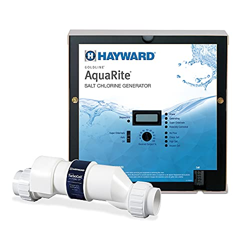 Hayward W3AQR15 AquaRite Salt Chlorination System for In-Ground Pools up to 40,000 Gallons