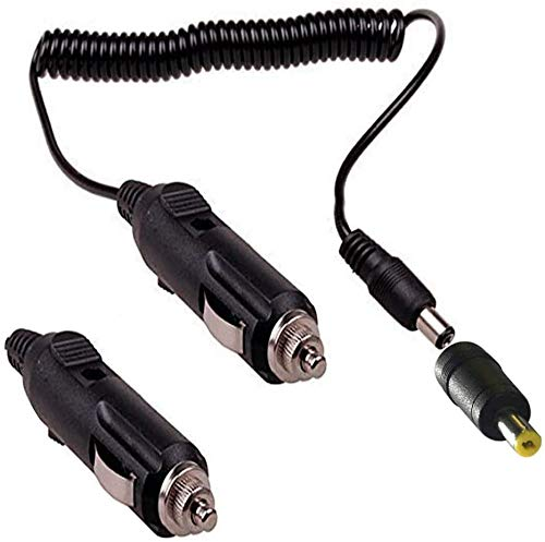 RUNCCI-YUN 12-24 V Encendedor de Cigarrillos Plug, DC 5521 Cigarette Lighter Socket Encendedor de Cigarillo Macho a Macho,DC 5.5 mm x 2.1 mm, 1.2 m 47.24in para Dispositivo de DVD portátil