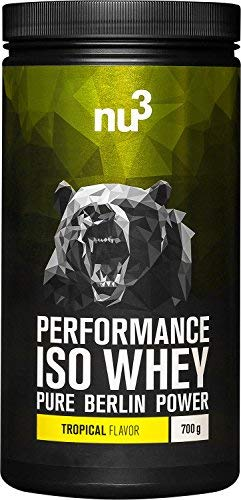 nu3 Performance Iso Whey - 700g saveur tropical -...