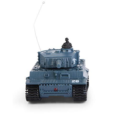 DAUERHAFT con Motor de Alta simulación Control Remoto Tanque de Juguete ABS 4 Canales de Regalo para niños