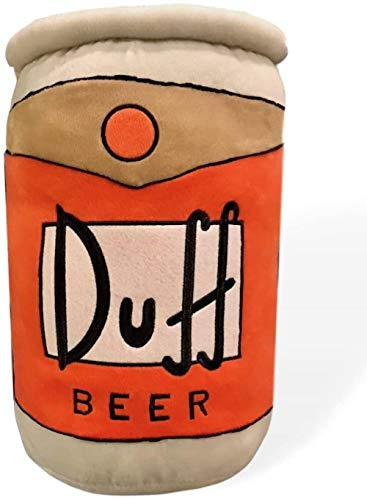 Universal Parks Simpsons Pillow Duff Beer Can 17' Exclusive Item