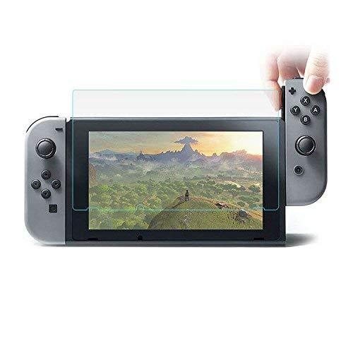 MUNDDY Protector de Pantalla de Cristal Templado para Nintendo Switch Espesor 0,30...