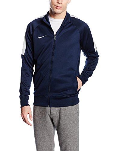 Nike Herren Jacke Team Club Trainer Sweatshirt, Blau (Navy 658683-451), Small (Herstellergröße: S)