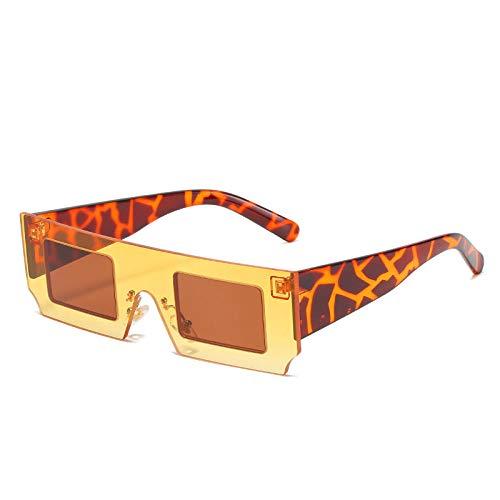 ZZZXX Gafas De Sol Unisex Gafas Cuadradas Personalizadas De Color En Contraste Objetivos De Alta Definición; Golf/Conducción/Pesca/Deportes Al Aire Libre/Gafas De Sol De Moda