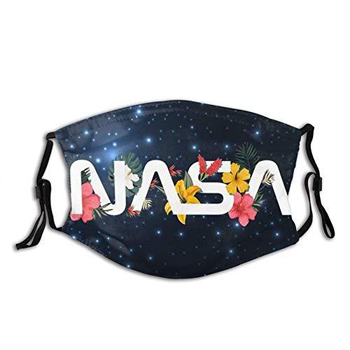 Nasa Logo Astronaut Mascarilla Bandanas Pasamontañas, lavable...