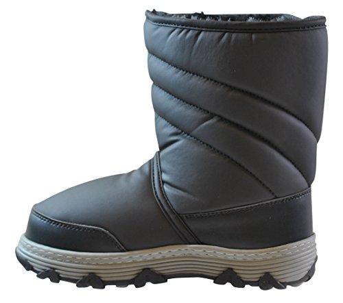 totes Kids Vana Snow Boot, Black, 4