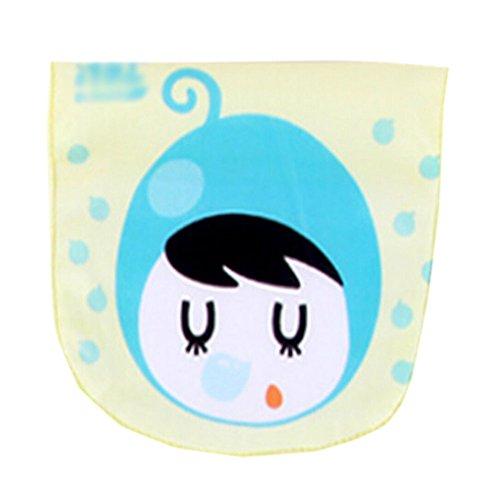 2 Lovely Myrtille bébé gaze de coton Serviette Serviettes de tapis de l'absorbant Chiffon