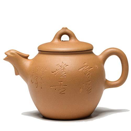 Lila Auflauf handgefertigt Erz lila Sand goldene Huhn Teekanne Sammlung Büro Kleiner Wasserkocher chinesische traditionelle Handwerk Teekanne HAODAMAI