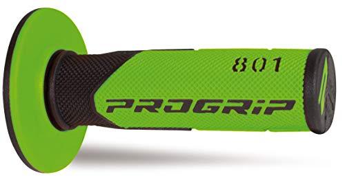 Paire grips moto cross ProGrip 801 Vert