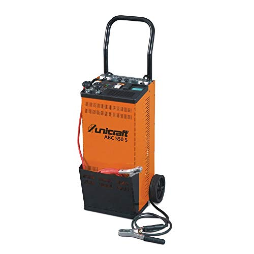 UNICRAFT ABC 550 S Automatisches Batterieladegerät Batteriestartgerät für Wet-, Gel- und AGM-Batterien
