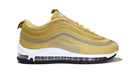 Air Zapatillas de Running para Hombre Mujer Zapatos para Correr y Asfalto Aire Libre y Deportes Calzado Gold-2213-36
