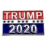 Trump 2020 Símbolo Recibir una Entrada Estrella Cupón Entradas refrescan Poker Broche Mochila Pernos de la Solapa Aficionados al Cine Regalos
