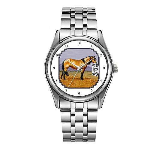 Reloj de lujo de los hombres 30 m impermeable fecha reloj masculino...