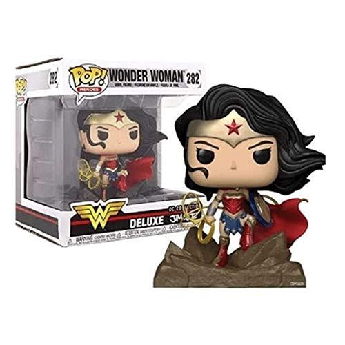 Funko Pop Heroes : Wonder Woman - Jim Lee Deluxe #282 (Exclusive) Figure Vinyl 4inch Gift for Heros Movie Fans Figure