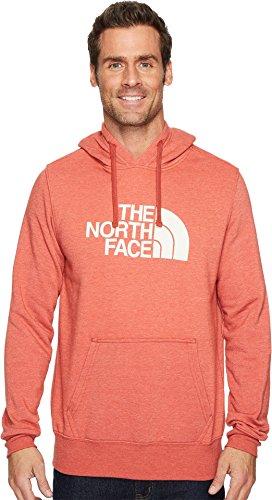 The North Face Men's Half Dome Hoodie - Bossa Nova Red Heather & Vintage White - XL