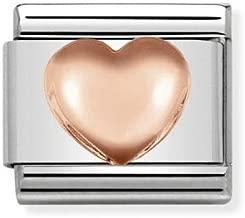 Charm Nomination in Acciaio e Oro Rosa – Composable – 430104/22
