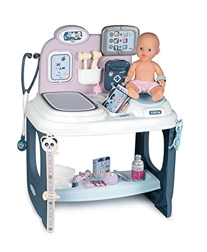 Smoby Centro de Cuidado para bebés con muñecas, Multicolor (Simba Toys 240300)