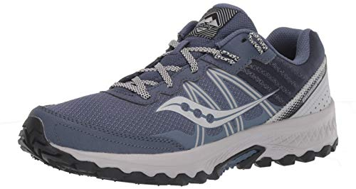 Saucony Men's Excursion TR14 Trail Running Shoe, Blue/Gray, 10