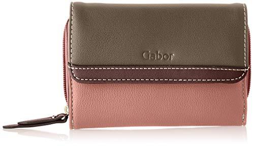 Gabor Portemonnaie Damen Cora, Pink (Old Rosé), 20x10.5x2.5 cm, Gabor Geldbeutel Damen