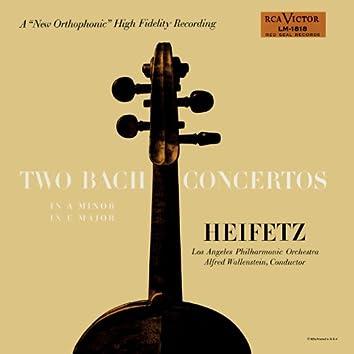 Bach: Concerto No. 1, BWV 1041 in A Minor, Concerto No. 2, BWV 1042 in E