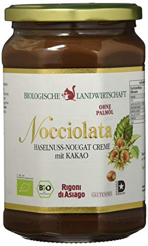 Rigoni di Asiago Nocciolata - Haselnuss-Nougat-Creme mit Kakao - BIO - Cremiger Brotaufstrrich, 1er Pack (1 x 700 g)