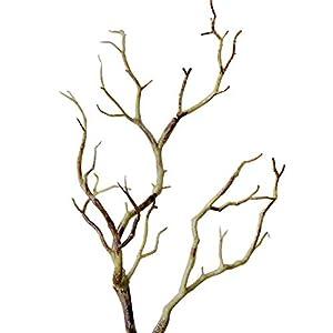 Monterey – 6 plantas artificiales ornamentales para sala de estar, diseño de pavo real