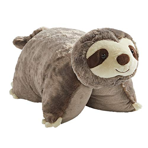Pillow Pets Sunny Sloth Stuffed Animal - 18' Stuffed Animal Plush Toy