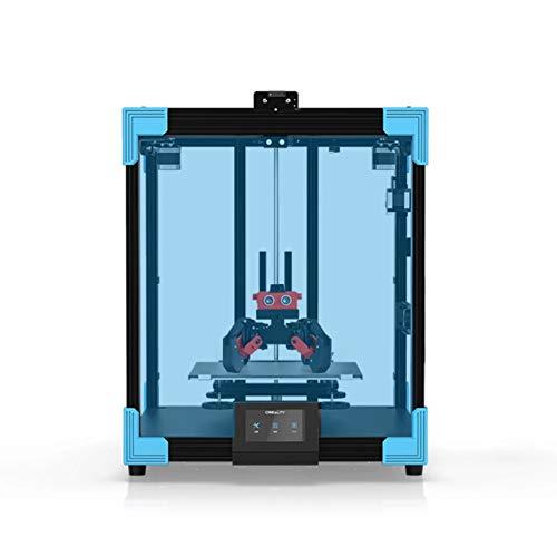 ASPZQ CREALITY Ender-6 Impresora 3D Estructura Mecánica Core-xy Soporte Completamente Cerrado con Placa Base Silenciosa 350W Potencia