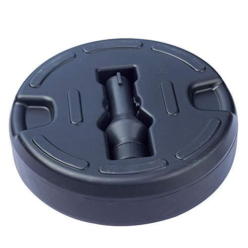 briskay - Base de sombrilla de plástico, base de varilla adecuada de 3,5 a 3,8 cm de diámetro