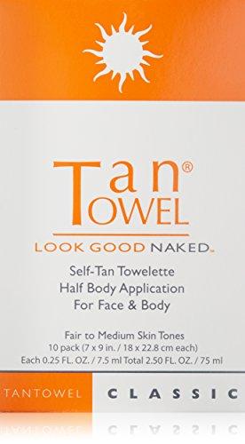Tan Towel Self Tan Towelette Classic 10 Count
