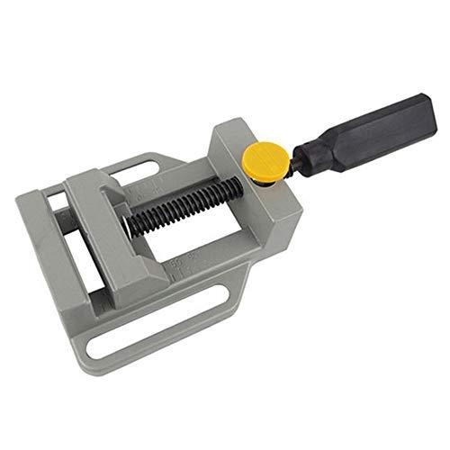 SHUGJAN Aluminium Mini Flachklemm for Bohrständer Griff Engraving Workbench DIY Werkzeug-Fräsmaschine Manuelle Schellen zur Holzbank DIY Zubehör Hardware Reparaturwerkzeuge