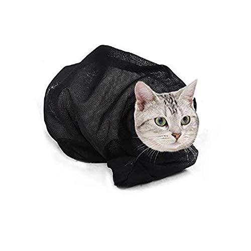 ASOCEA Katzen-Pflegetasche, beißt und kratzt nicht, zum Baden, Injektionen, Nageltrimmen