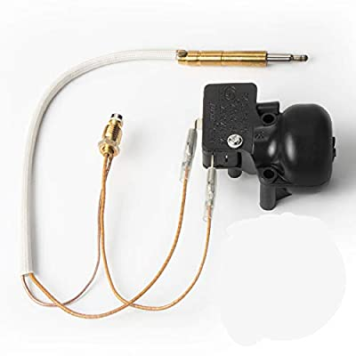 TerSale Patio Gas Heater Repair Replacement Parts for Room Heaters Garden Outdoor Heaters with Thermocouple&Pour Switch Controls